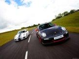2011 White Porsche 911 GT3 Cup Wallpaper Front view