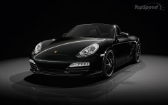 2011 Porsche Boxster S Black Edition Front angle side view