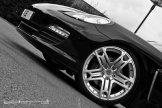 2011 Black Porsche Panamera RS600 Project Kahn Front angle view