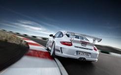 Limited White 2011 Porsche 911 GT3 RS 4.0 wallpaper Rear view