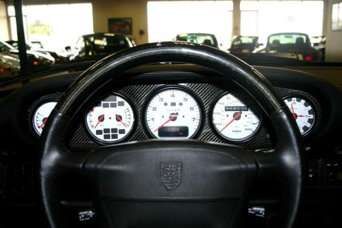 Jerry Seinfeld's 1997 Porsche 911 Turbo S Interior Dashboard