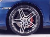 2007 Blue Porsche 911 Turbo Wallpaper Side view Wheel