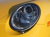 2007 Yellow Porsche 911 Turbo Wallpaper Front view Head light