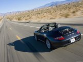 2008 Porsche 911 Carrera Wallpaper Rear angle view
