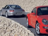 2008 Porsche 911 Carrera Wallpaper Side angle view