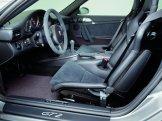 2008 Silver Porsche 911 GT2 Wallpaper Interior Seats
