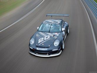 2010 Black Porsche 911 GT3 Cup_Wallpaper_001