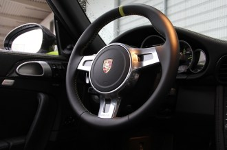 Limited edition: Porsche 911 Turbo S Edition 918 Spyder Interior Steering wheel