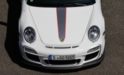 Porsche review 2011 Porsche 91 GT3 RS 4.0 First drive Front top view
