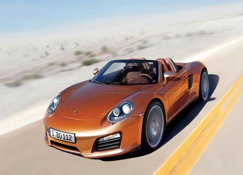 New Porsche model - Porsche 550 Spyder
