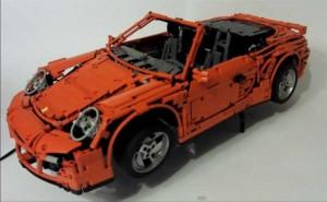 RC Porsche toy - Lego Porsche 911