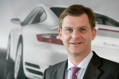Thomas Edig, Porsche AG Executive Vice President Human Resources