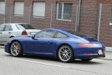 new Porsche 911 (2012 Porsche 991) Side angle view