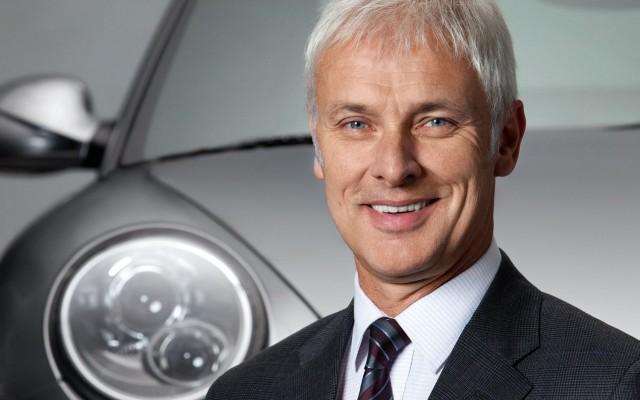 Porsche CEO - Matthias Muller
