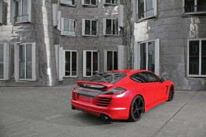 Red Porsche Panamera Turbo by Anderson Germany