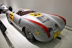 1956 Porsche 550 A Spyder at Porsche museum