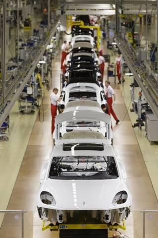 Porsche Macan @ Porsche Leipzig plant