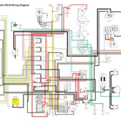 Porsche Wiring Diagram 02 Sv650 356c 356 Schematic