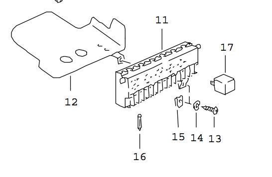 [TUTO] Changement tableau fusibles 924, 924S, 944 Ph1