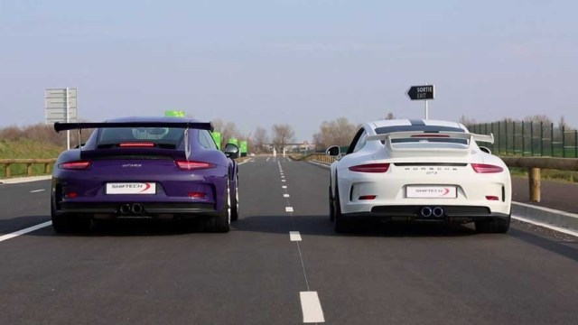 The Porsche 911 GT3 Vs GT3 RS: A Look at Their Differences
