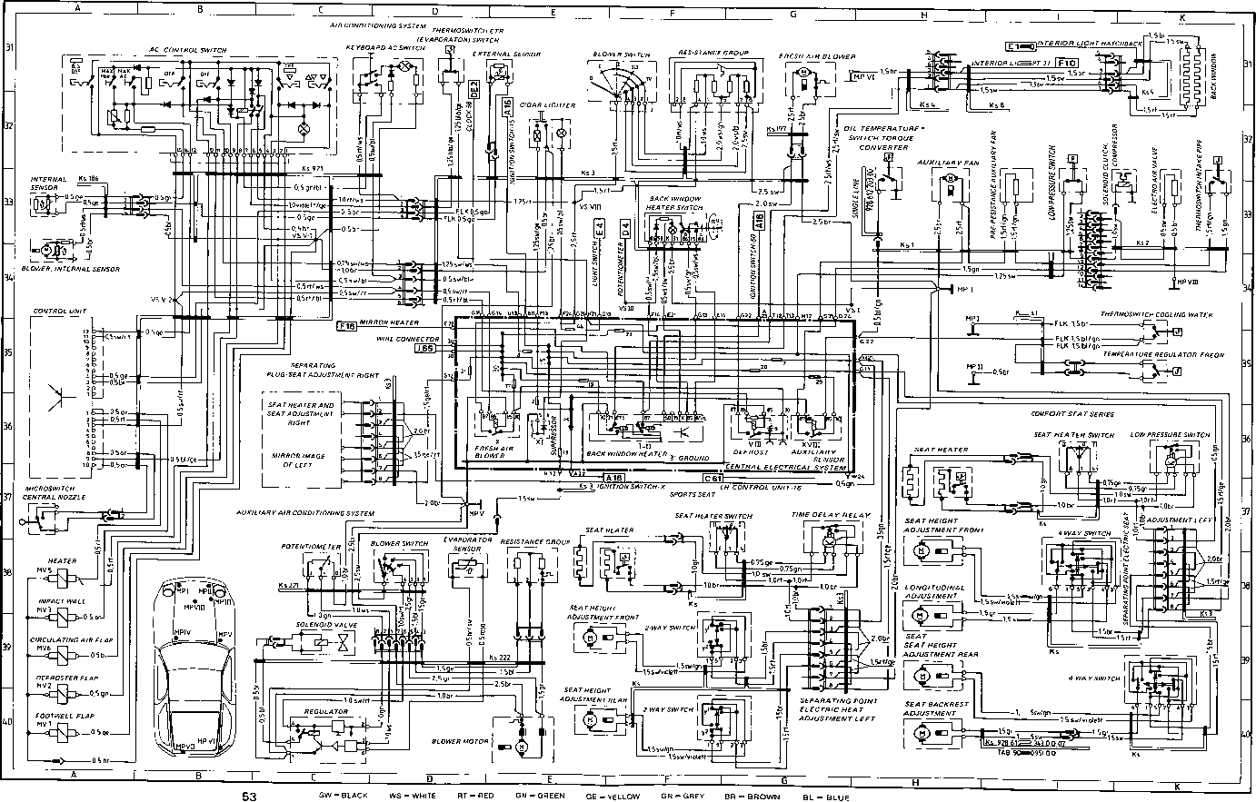hight resolution of 1984 porsche 928 wiring diagram free wiring diagram for you u2022wiring diagram in addition porsche