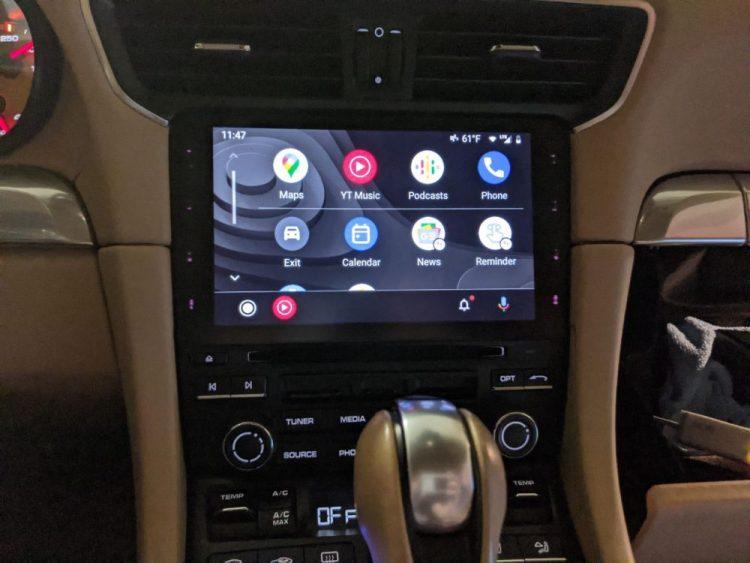 Porsche Android Auto