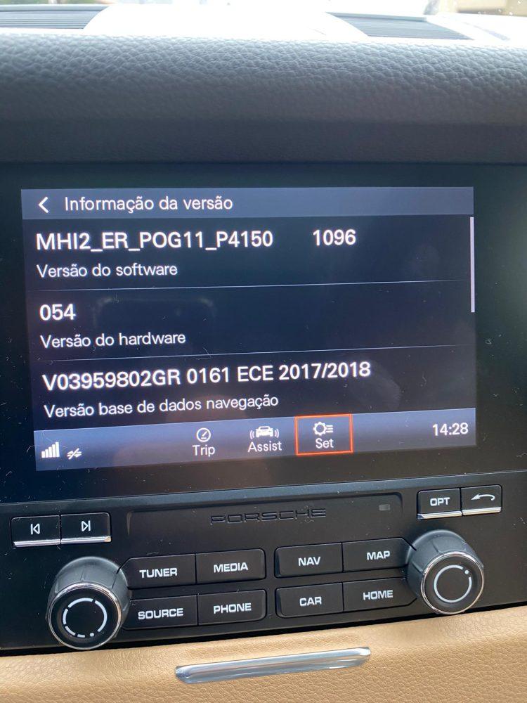 Porsche Android Auto System Version