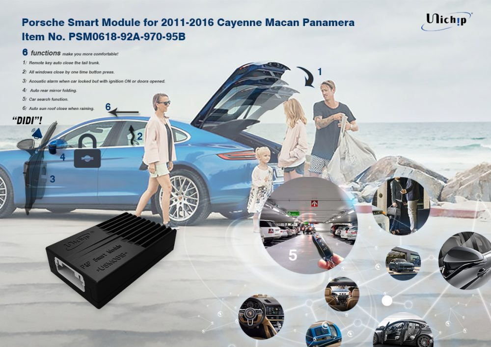Porsche Smart Module forfor2011-2016CayenneMacanPanamera