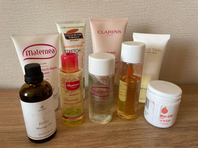 預防減緩妊娠紋,九款妊娠紋霜/油使用心得分享