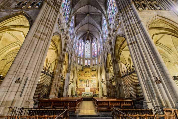 catedral-de-leon-interior-2 - Por Soleá