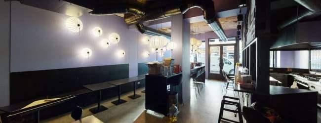 3D Rundgang verlassenes Restaurant