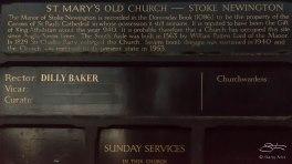 St Mary's Old Church, Stoke Newington 12/23/2015