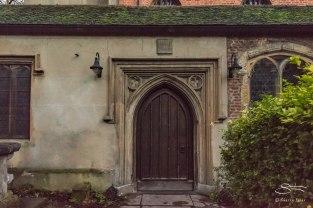 St Mary's Old Chirch door, Stoke Newington