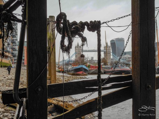 Bermondsey Wall, River Neckinger, Thames 1/1/2016