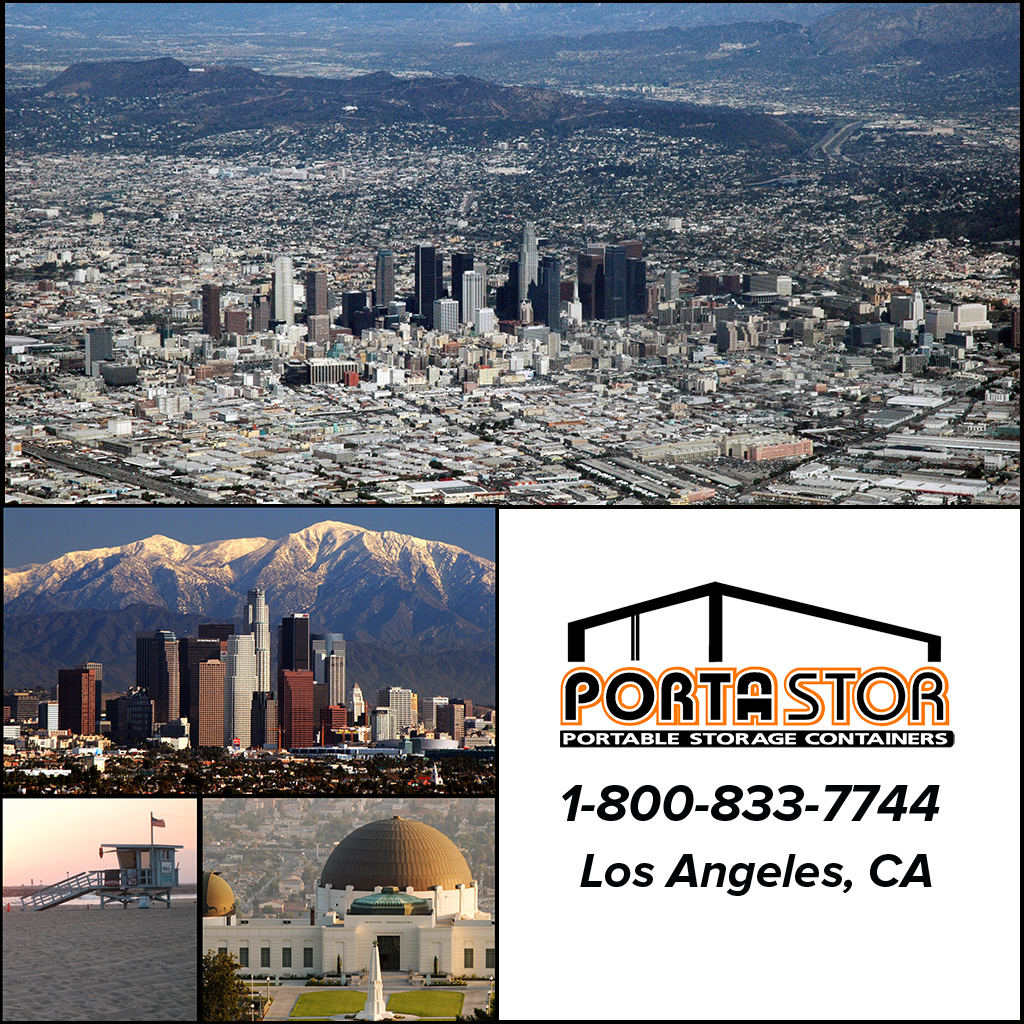 Rent Portable Storage Containers in Los Angeles
