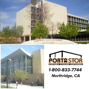 Rent portable storage containers in Northridge, CA