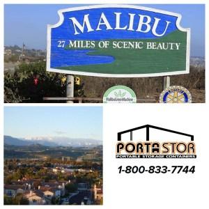 Rent portable storage units in Malibu CA