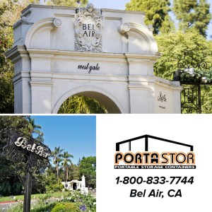 Rent portable storage containers in Bel Air, CA