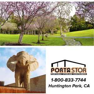 Rent portable storage containers in Huntington Park, CA