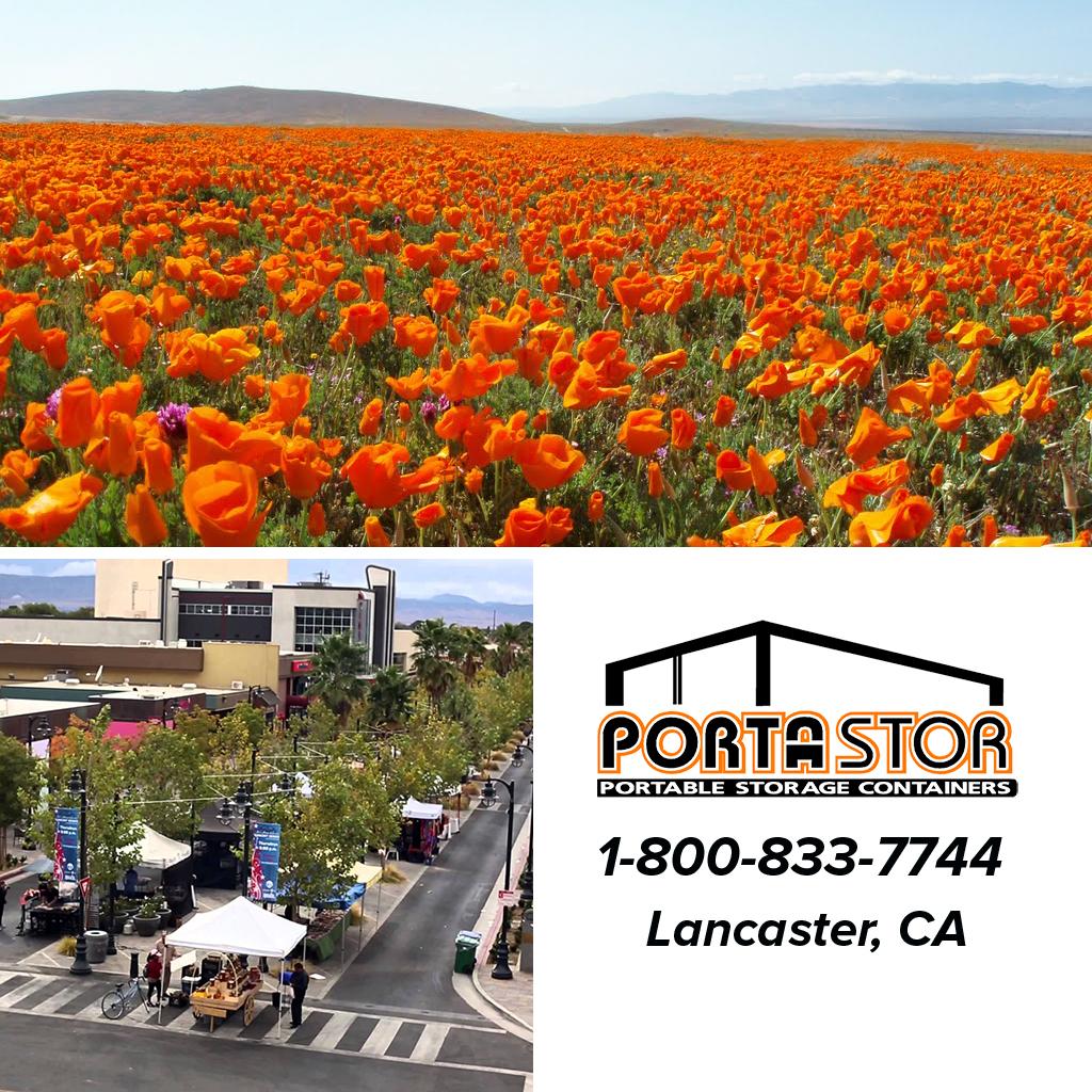 Rent portable storage units in Lancaster, CA