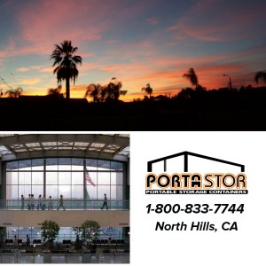 Rent portable storage containers in North Hills, CA