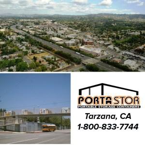 Rent portable storage containers in Tarzana, CA