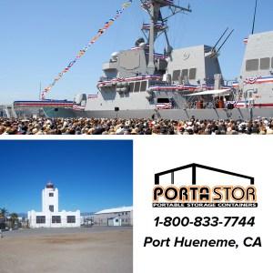 Rent portable storage units in Port Hueneme CA