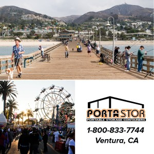 Rent portable storage unit in Ventura, CA