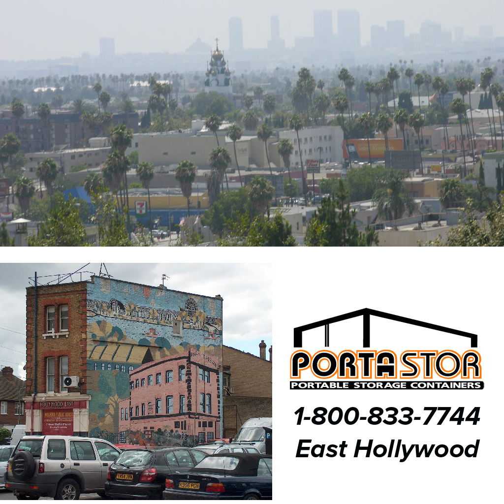Rent Portable Storage Containers in East Hollywood