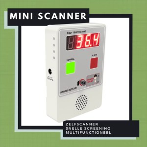 Mini-scanner voor infrarood temperatuurmeting