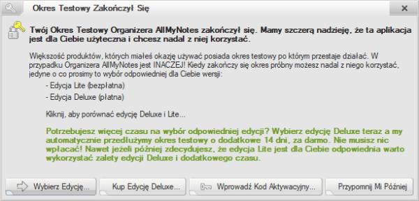 allmynotes organizer deluxe 3.21
