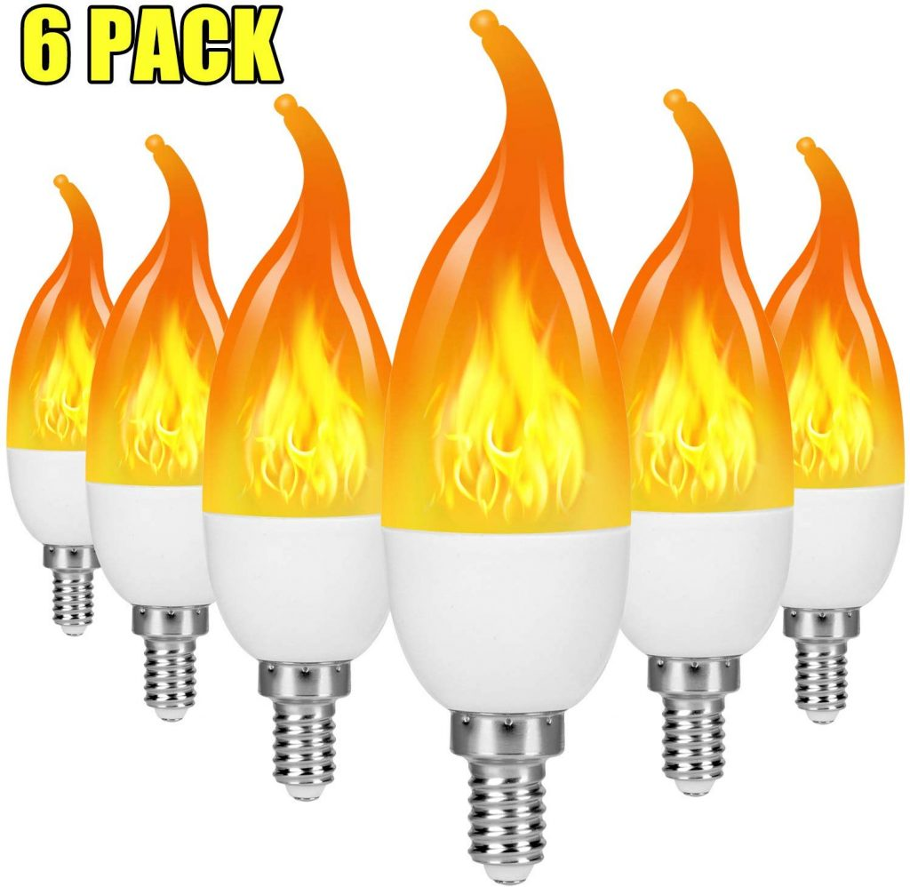 10 Best Led Flame Effect Light Bulbs In Review