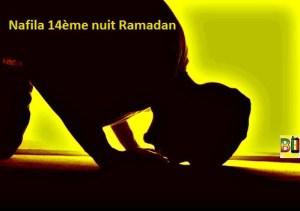 Ramadan nuit 14