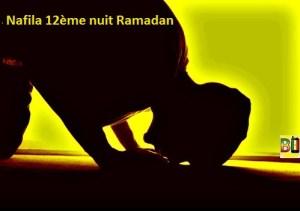 Ramadan nuit 12